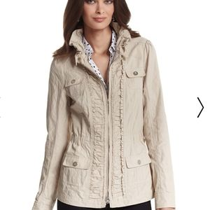 WHBM Rouched Field Jacket